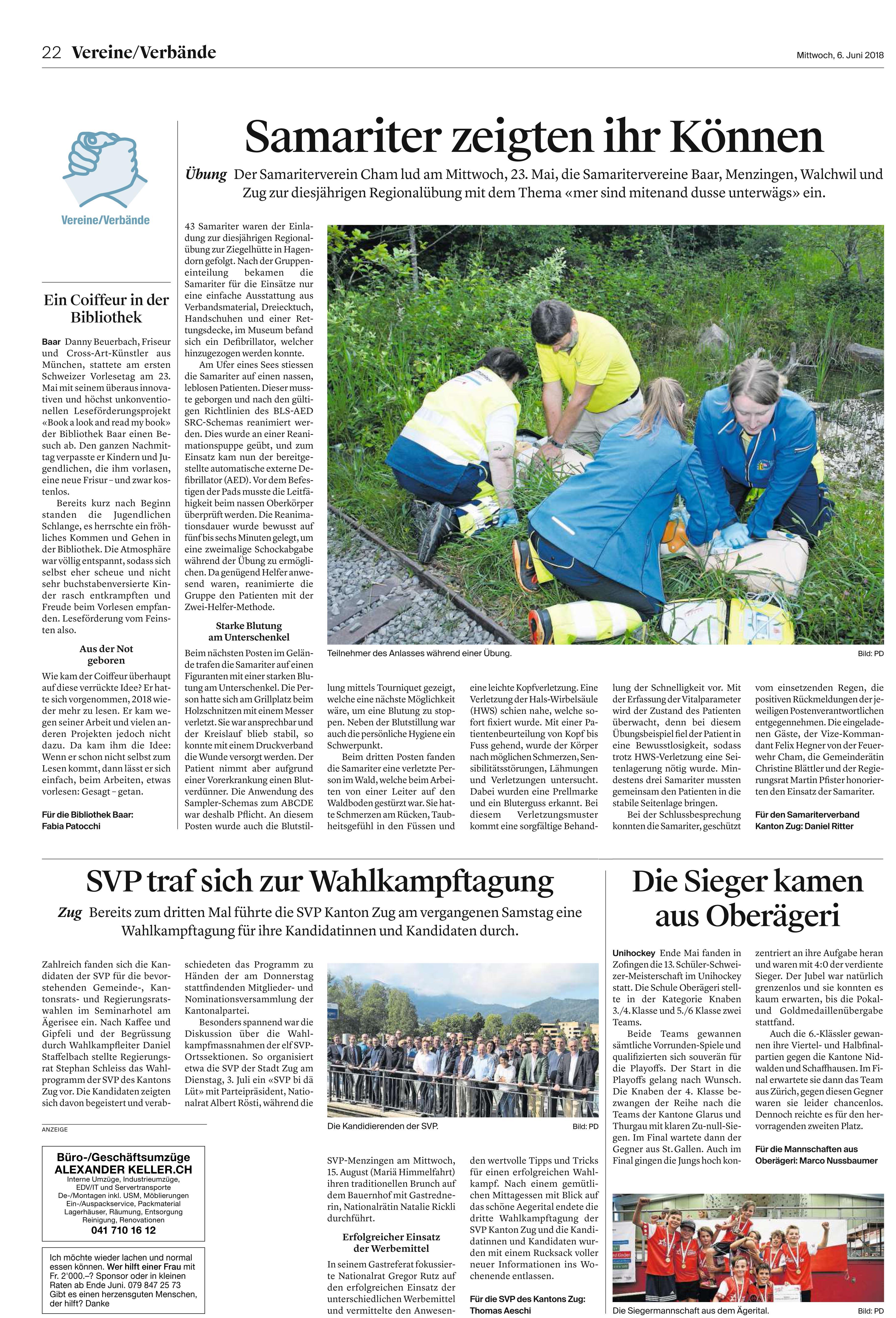 Pressemitteilung SV-Cham